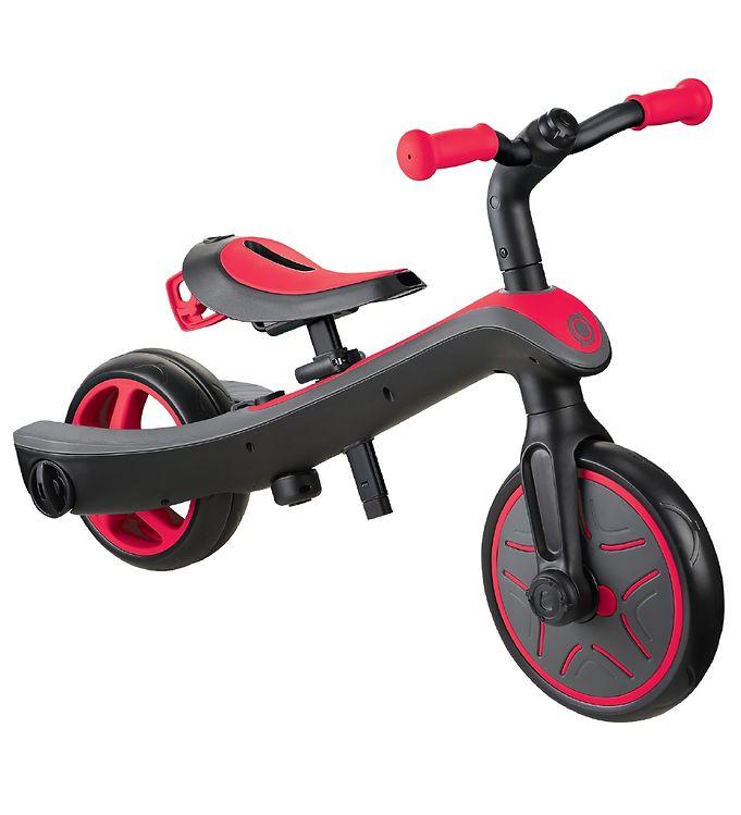 Billede af Globber Løbecykel - Trike Explorer - 2-i-1 - Red
