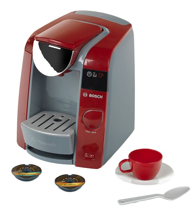 Image of Bosch Mini Kaffemaskine - Tassimo - Legetøj - Rød (TG254)