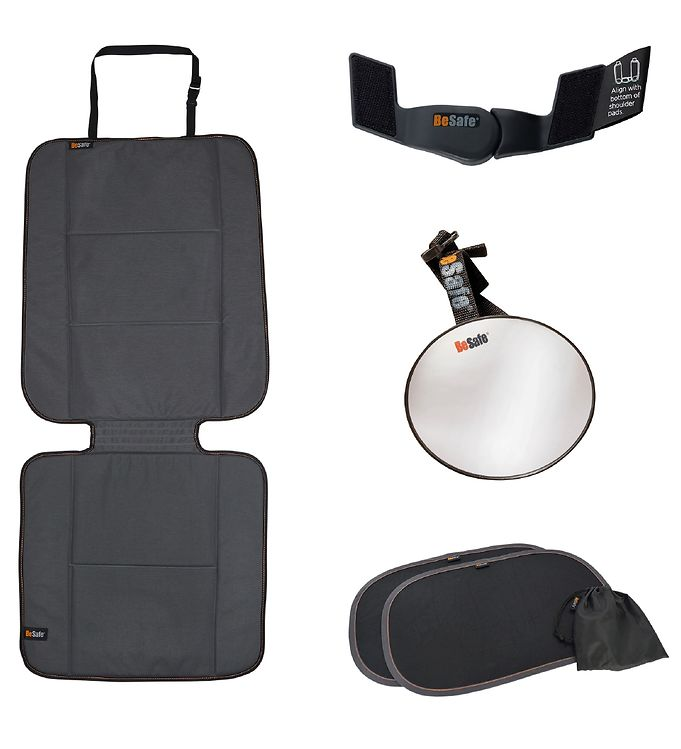 Image of BeSafe Bagsæde-Sæt til Autostol - Rear Facing Kit - Sort (TG261)
