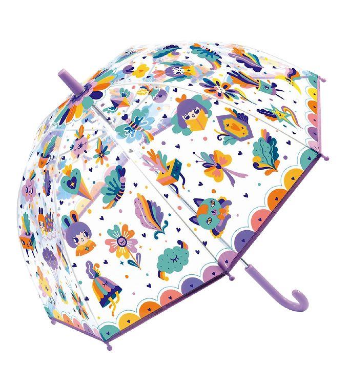 Djeco Paraply til Børn - Pop Regnbue
