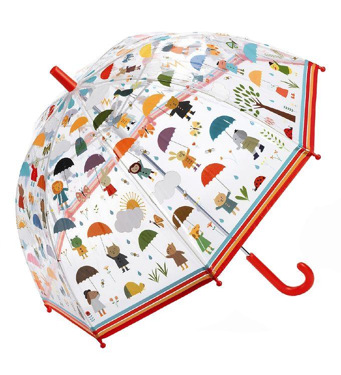 Djeco Paraply til Børn - I Regnvejr