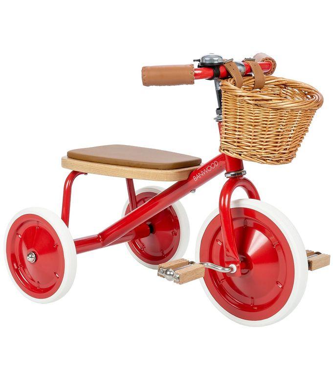 Billede af Banwood Trike - Trehjulet - Rød