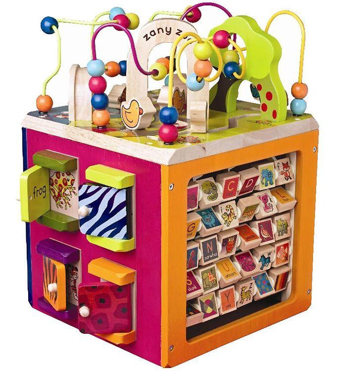 Image of B. toys - Zany Zoo - 35x45 cm - Aktivitetskube (TG572)
