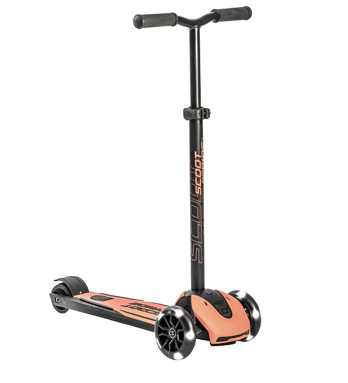 Image of Scoot and Ride Highway Kick 5 - LED - Peach (TG648)