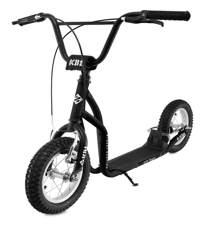 Image of Streetsurfing Løbehjul - K-Bike KB1 - Sort (TG686)