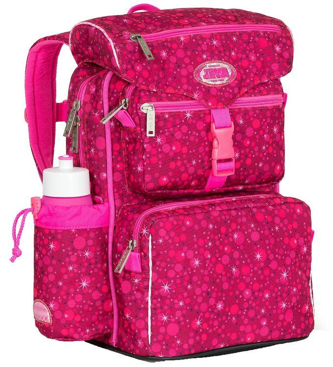 Image of Jeva Skoletaske - Beginners - Super Pink (TG866)