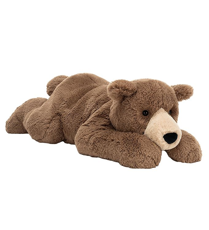 Image of Jellycat Bamse - 20x65 cm - Woody Bear Lying (TG913)