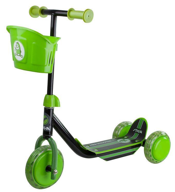 Image of Stiga Løbehjul - Mini Scooter - Kid 3W - Grøn (TG992)