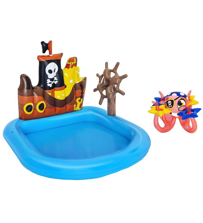 Image of Bestway Oppusteligt Bassin - 1,4 x 1,3 m - Ships Ahoy Play (TH045)