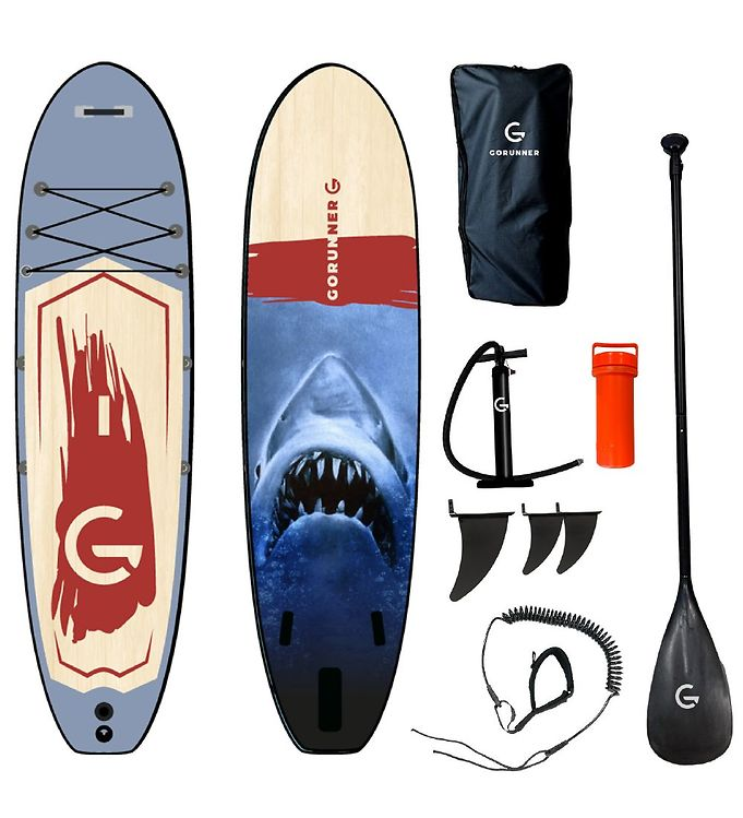 Image of GoRunner Supboard - Shark - Blå (TH203)