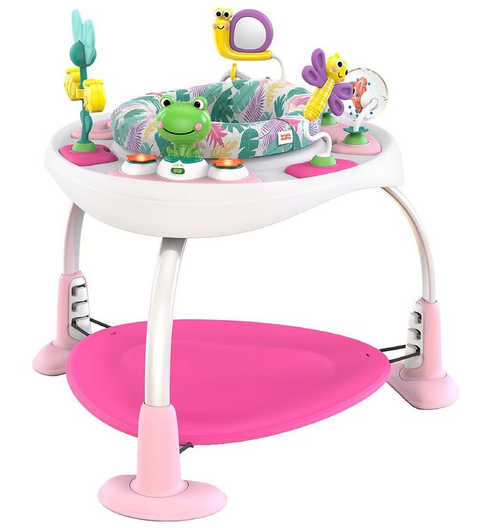 Image of Bright Starts Legetrampolin - 2-i-1 - Bounce Bounce Baby (TH265)