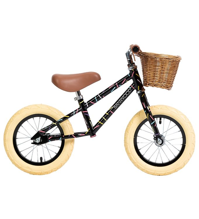 Image of Banwood Løbecykel - First Go! - Allegra Black (TH337)