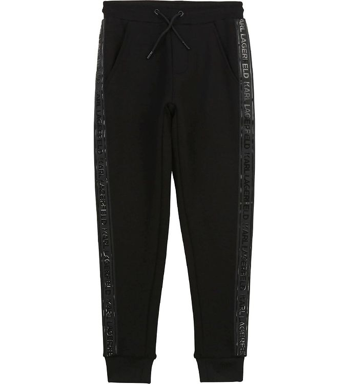 Image of Karl Lagerfeld Sweatpants - Digikarl - Sort (UA059)
