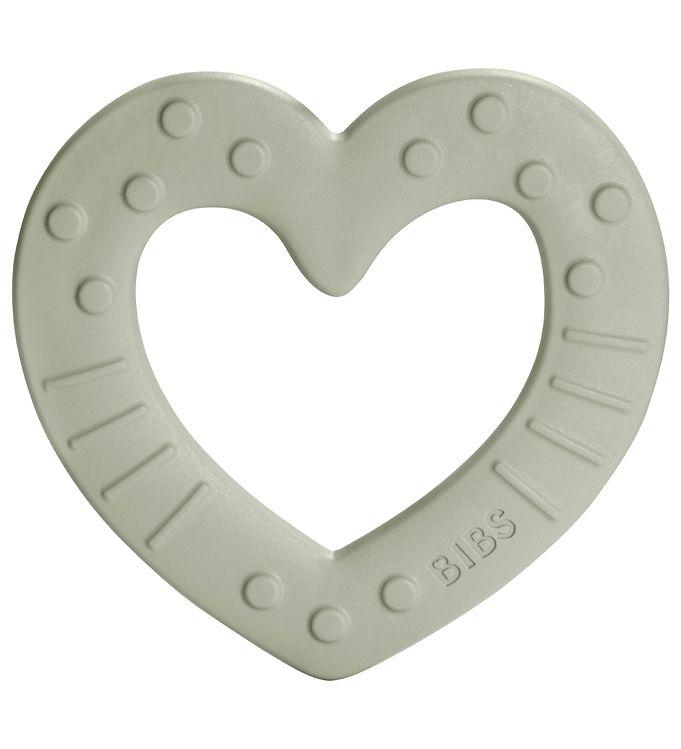 Image of Bibs Bidering - Heart - Sage (UA174)