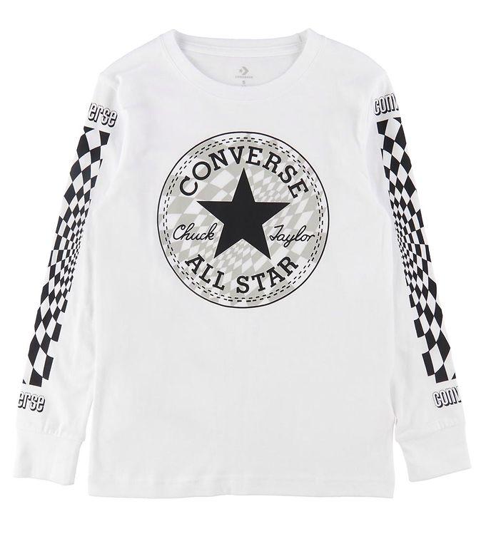 Image of Converse Bluse - Hvid m. Logo/Tern (UA200)