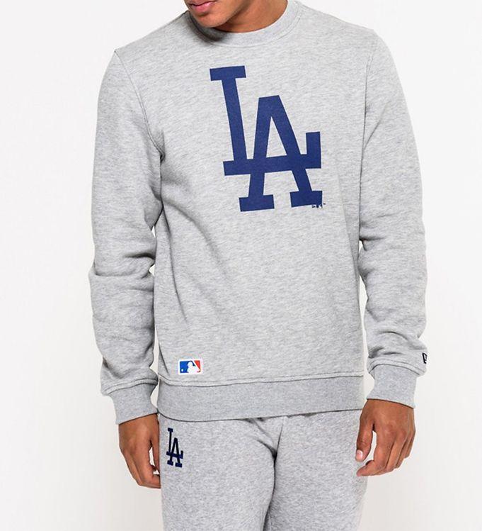Image of New Era Sweatshirt - Dodgers - Grå (UB034)