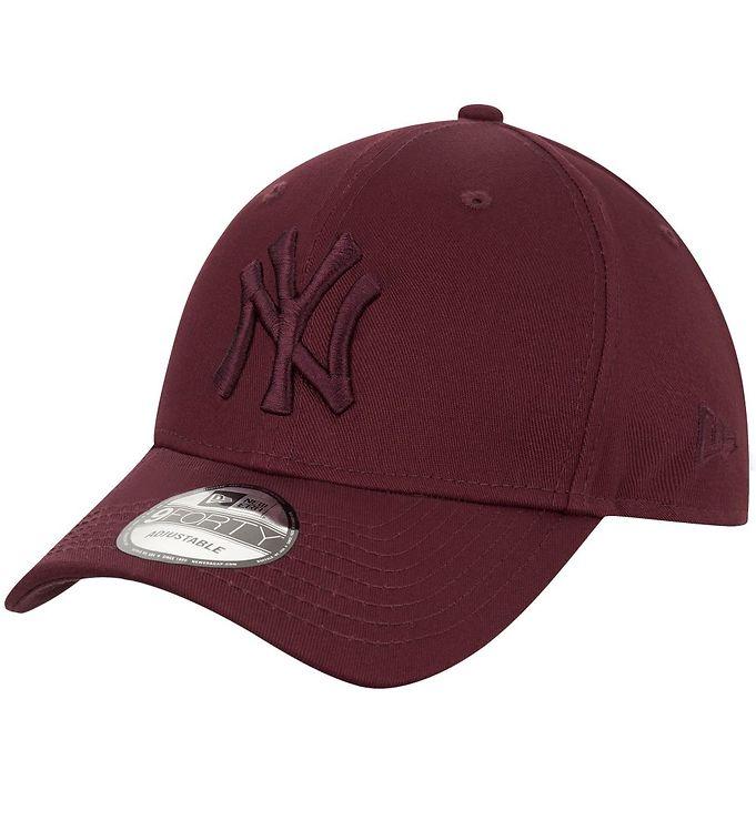 Image of New Era Kasket - 940 - New York Yankees - Bordeaux (UB037)