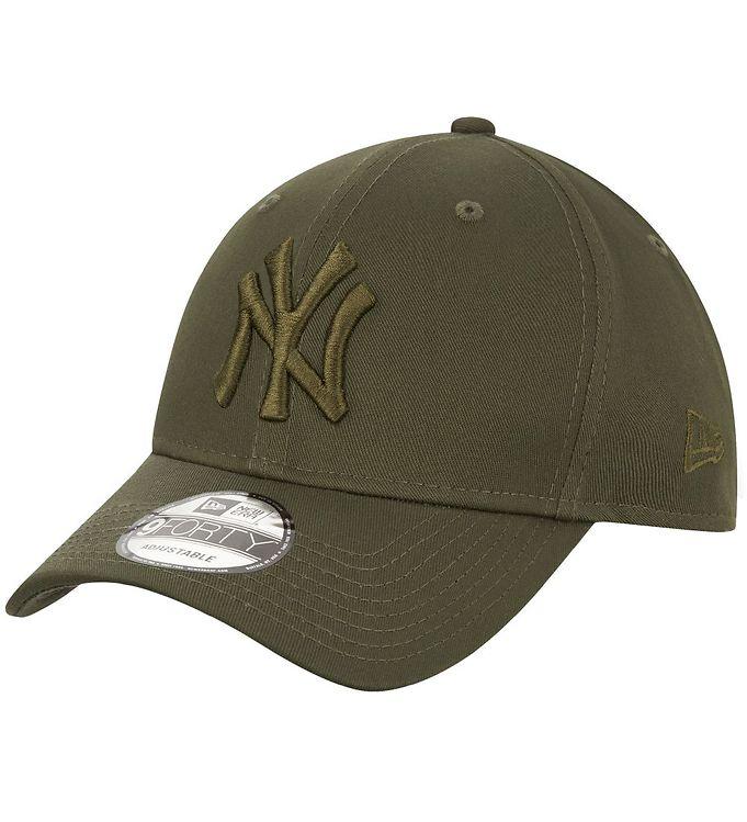 Image of New Era Kasket - 940 - New York Yankees - Armygrøn (UB061)
