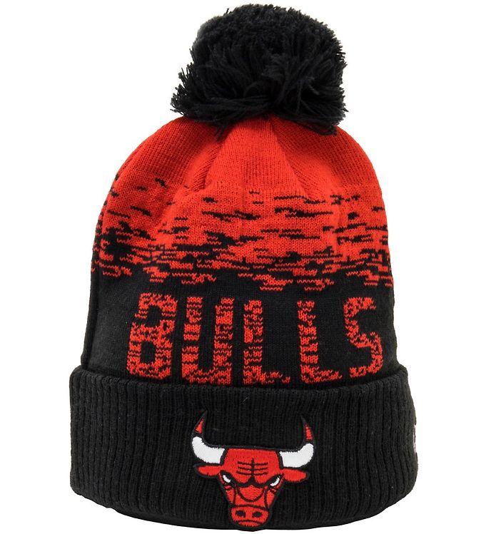 Image of New Era Hue - Strik - Chicago Bulls - Sort/Rød (UB139)