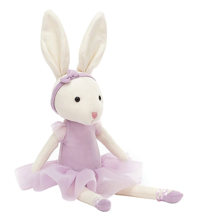 Image of Jellycat Bamse - 27x9 cm - Pirouette Bunny Lilac (UB221)