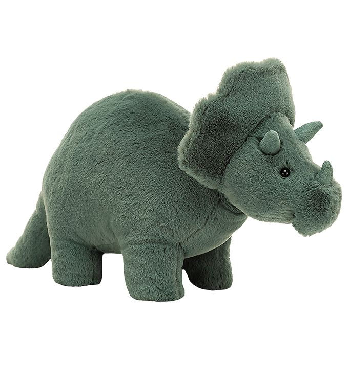 Image of Jellycat Bamse - 17x11 cm - Fossilly Triceratops (UB249)