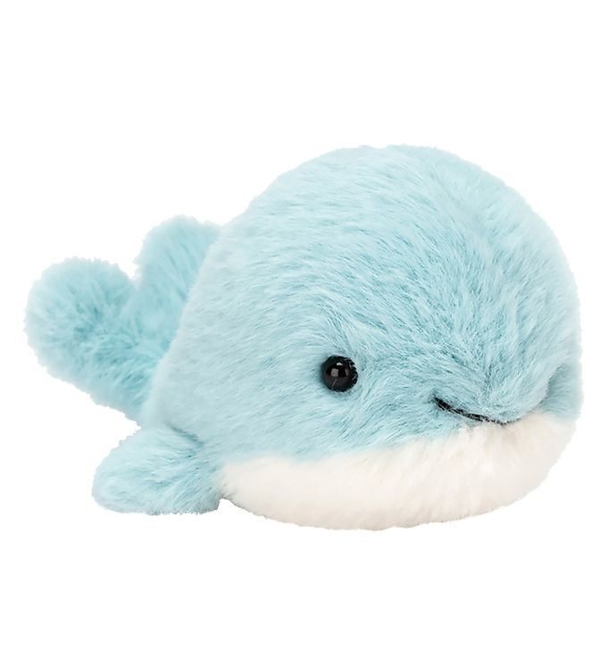 Image of Jellycat Bamse - 10x5 cm - Fluffy Whale (UB318)
