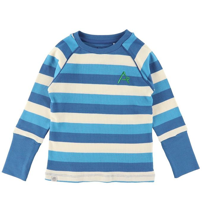 Image of AlbaBaby Bluse - Our Favourite - Snorkel Blue Stripes (UB443)