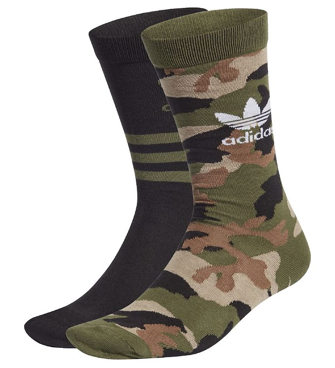 Image of adidas Originals Strømper - 2-pak - Camouflage (UB818)