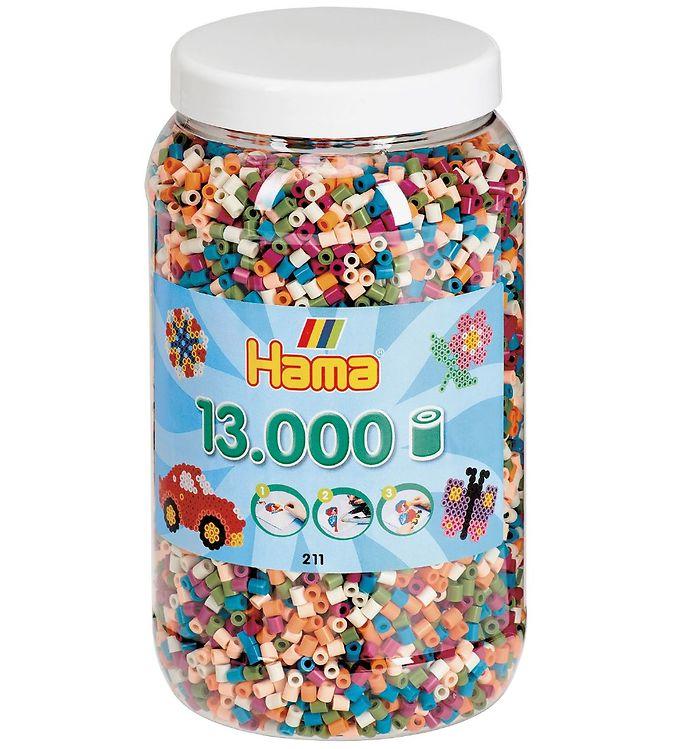Image of Hama Midi Perler - 13.000 stk. - Mix (UB908)