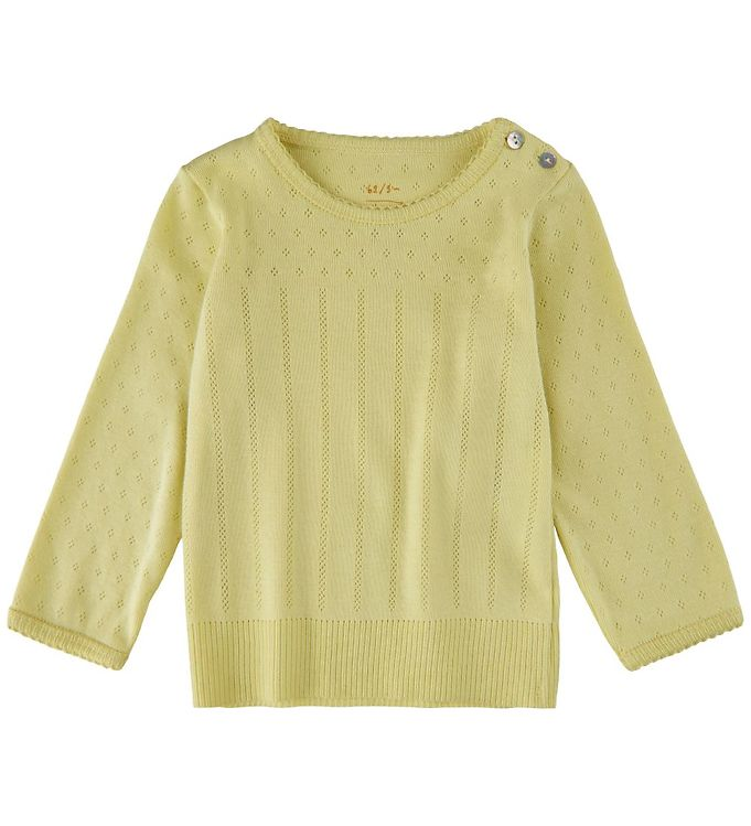 Image of Noa Noa Miniature Bluse - Doria - Lemon Grass (UC424)