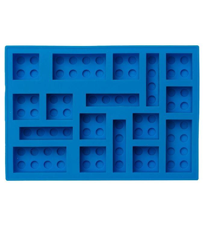 Image of LEGO Storage Isterningebakke - 17x12 cm - Bright Blue (UC493)