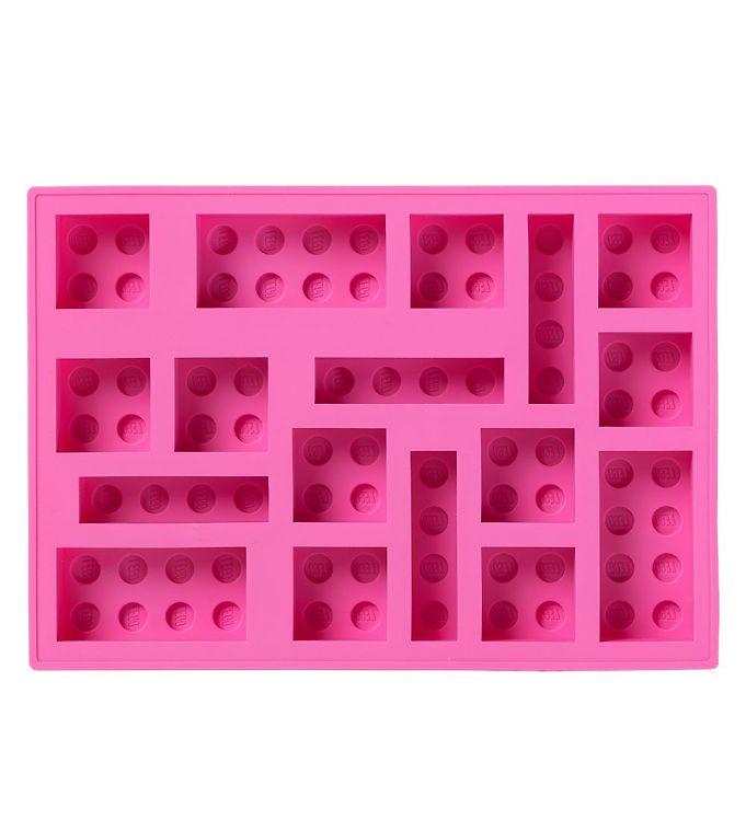 Image of LEGO Storage Isterningebakke - 17x12 cm - Pink (UC494)