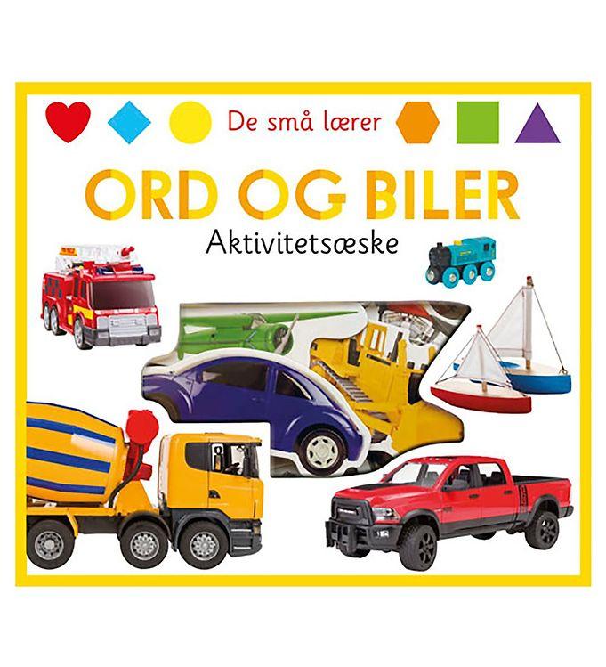 Image of Alvilda Aktivitetsæske - De Små Lærer Ord Og Biler (UC720)