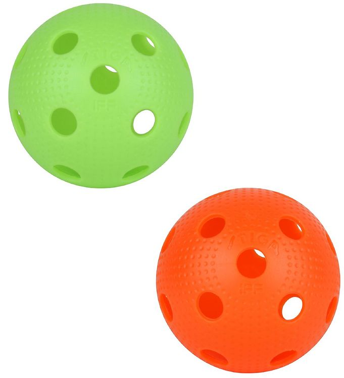 Image of Stiga Floorball - 2-pak - Orange/Limegrøn (UC924)