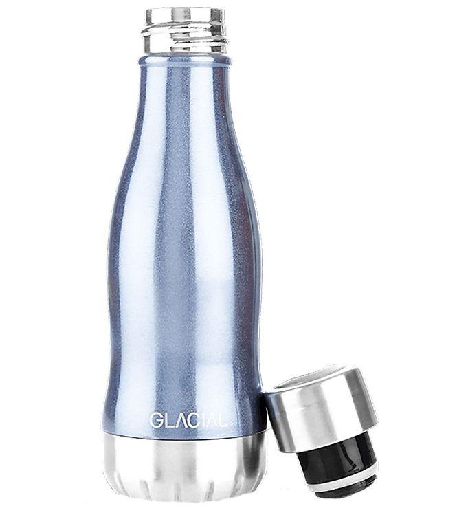 Image of Glacial Termoflaske - 260 ml - Blue Metallic (UD191)