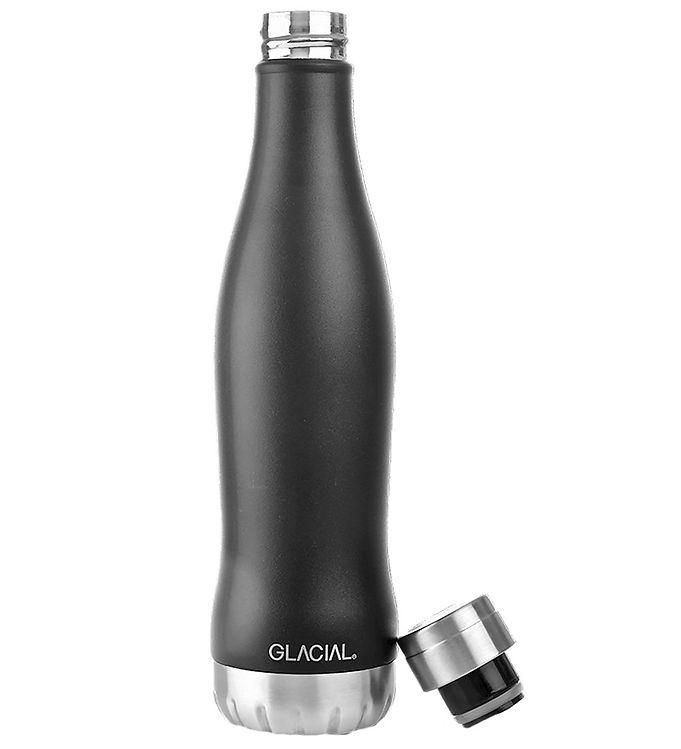Image of Glacial Termoflaske - 400 ml - Matte Black (UD219)