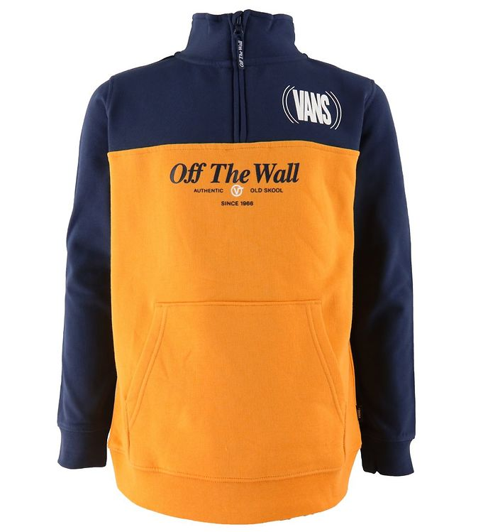 Image of Vans Cardigan - Frequenzy - Gul/Navy (UD304)