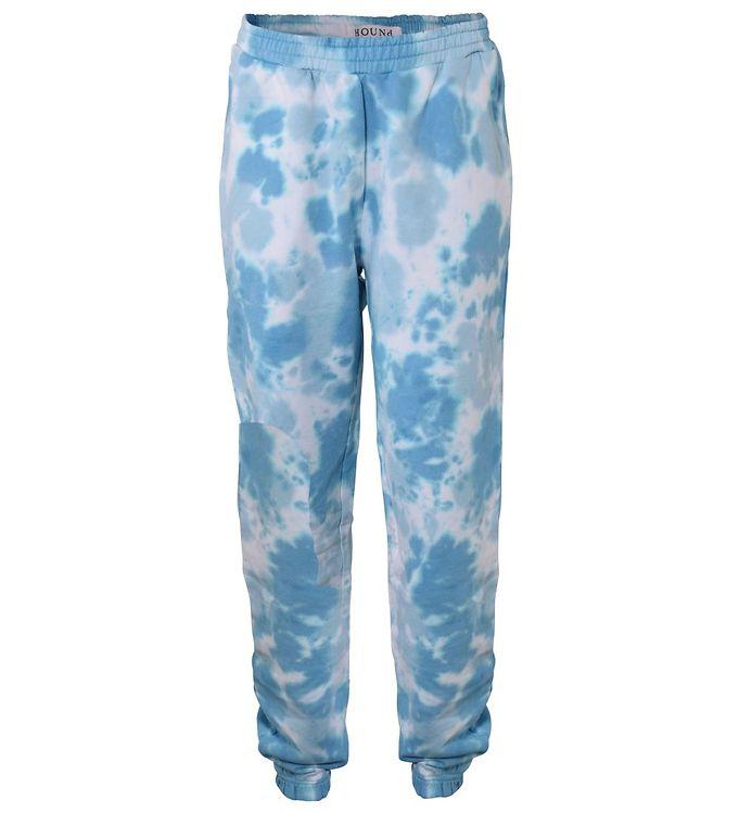 Image of Hound Sweatpants - Tie Dye - Blå (UD516)
