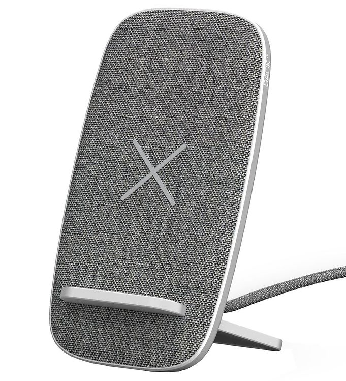 Image of SACKit Oplader - CHARGEit Stand Dock - Wireless - Grå (UD737)