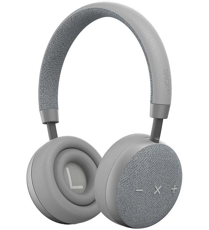 Image of SACKit Høretelefoner - TOUCHit S - On-Ear - Wireless - Sølv (UD745)