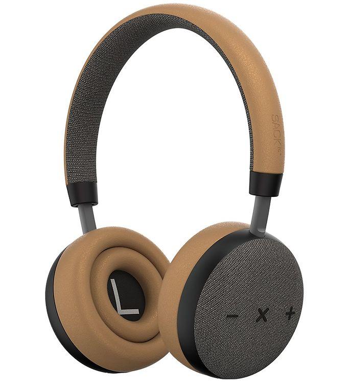 Image of SACKit Høretelefoner - TOUCHit S - On-Ear - Wireless - Golden (UD748)