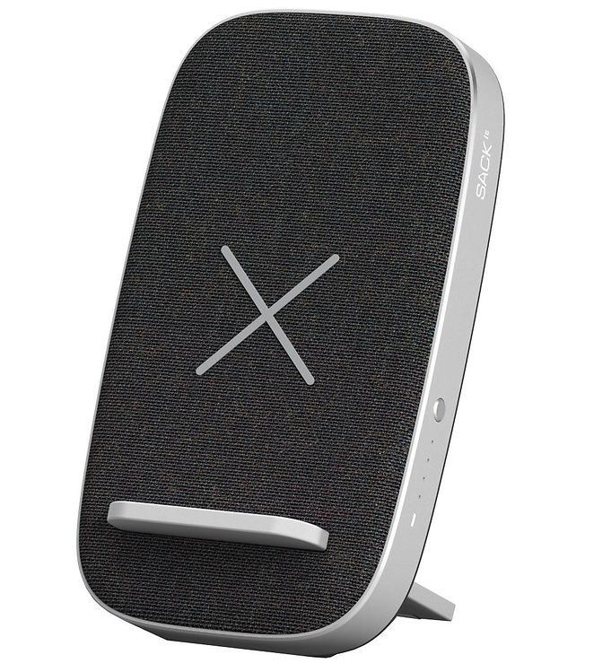 Image of SACKit Oplader/Powerbank - CHARGEit Stand - Wireless - Sort (UD761)