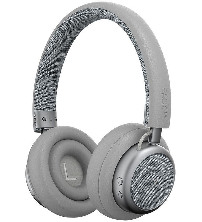 Image of SACKit Høretelefoner - TOUCHit - On-Ear - Wireless - Sølv (UD766)