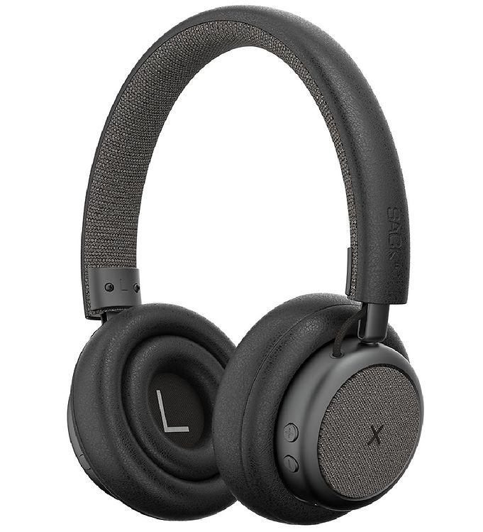 Image of SACKit Høretelefoner - TOUCHit - On-Ear - Wireless - Sort (UD770)