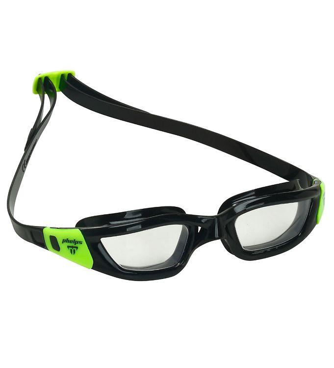 Image of Aqua Lung Svømmebriller - Tiburon - Sort/Klar (UD852)