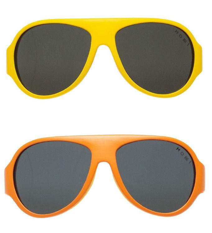 Image of Mokki Solbriller - Click & Change - 10 dele - Orange (UD914)