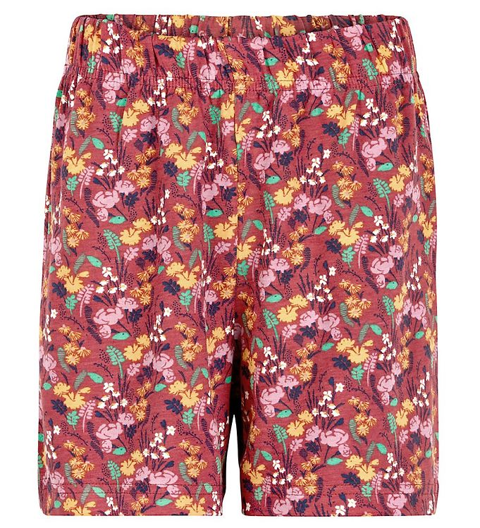 Image of The New Shorts - Uri - Mineral Red m. Blomster (UD935)