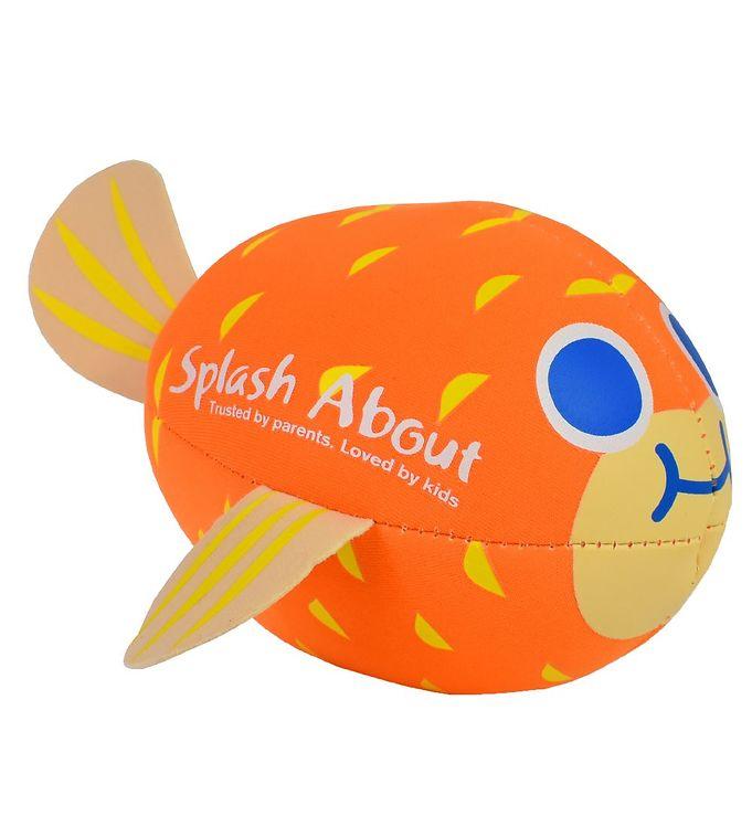 Image of Splash About Badebold - Neoprene - Puffer Fish - Orange (UE002)