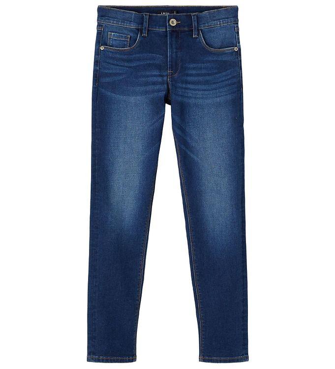 Image of LMTD Jeans - NlmShaun - Dark Blue Denim (UE096)