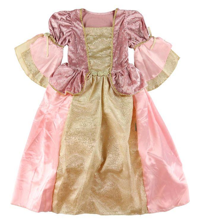Den Goda Fen Udklædning - Prinsesse - Rosa/Guld